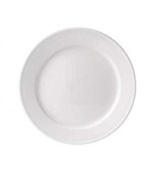 """8"""" loop plate, rimmed"""