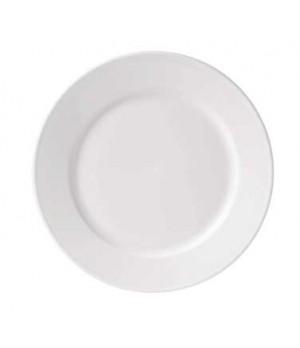"""10.68"""" loop plate, rimmed"""