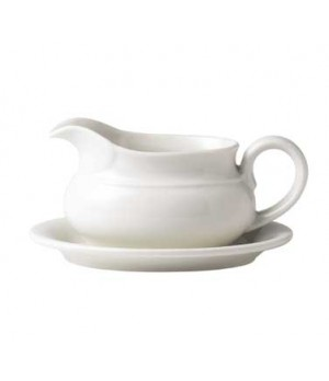 "7.5"" capital troy gravy boat stand, oval"