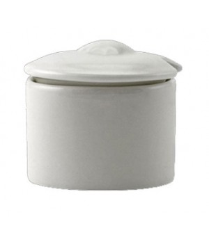 straford mustard pot, with lid