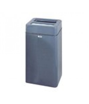 "Ash/Trash Receptacle, 20 gallon, 16"" squ"