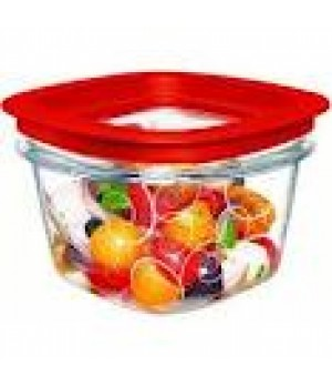0.75 qt/3 cup stacking poly container