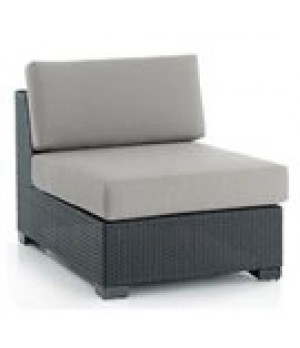 WOVEN SECTIONAL ARMLESS UNIT 24in W x 34in D x 34in H