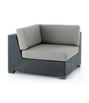 WOVEN SECTIONAL CORNER UNIT 34in W x x34in D x 34in H