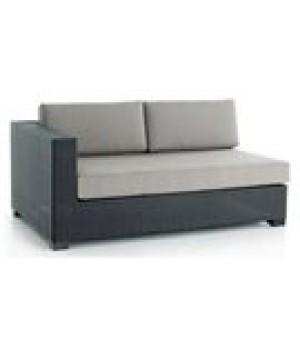 WOVEN SECTIONAL RIGHT LOVESEAT UNIT 53in W x 34in D x 34in H