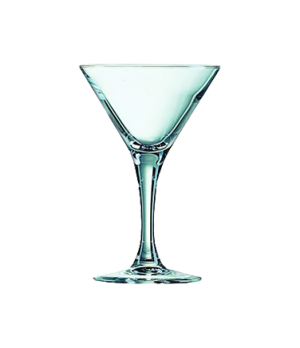 "Cocktail Taster, 3 oz., fully tempered, glass, (H 4-7/8"" T3-1/4' B2-1/2"" M3-1/4"""