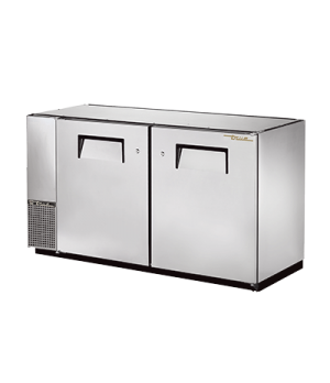 """Back Bar Cooler, two-section, 24"""" deep, 34-1/4"""" high, (72) 6-packs or (3) 1/2 ke"""