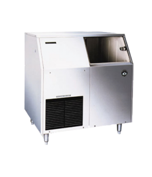 Ice Maker with Bin, Flake-Style, air-cooled, self-contained condenser, productio