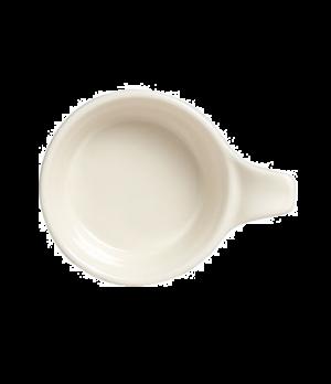"""Casserole/Tab Soup, 7 oz., 4-7/8"""" x 1-7/8"""", round, with 1-1/4"""" tab, clear glaze,"""