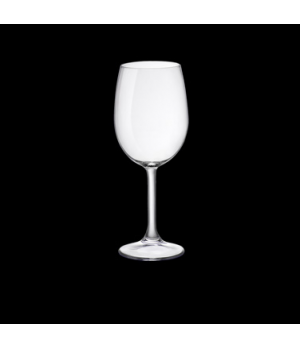 Wine Glass, 8-1/2 oz., pulled stem, tempered, Bormioli, Sara (USA stock item) (m