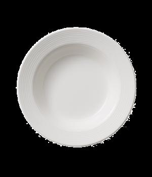 """Rim Soup Plate, 9"""", 13 oz., deep,  premium porcelain, Sedona Fuction"""