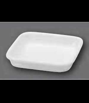 "Serving Dish/Lid, 4"" x 4"", square, oven, microwave and dishwasher safe, porcelai"