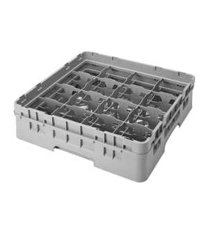 "Camrack® Glass Rack, with extender, full size, 16 compartments, 4-3/8"" max. dia."