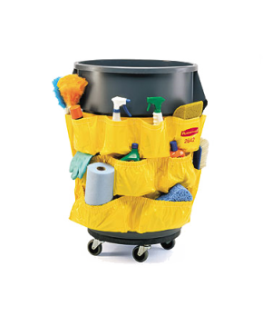 "BRUTE® Caddy Bag, 20""D x 20-1/2""H, yellow"