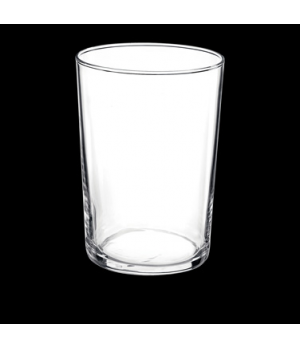 "Bodega Glass, 17-1/4 oz., 3-1/2"" x 4-3/4"", maxi, tempered, Bormioli (USA stock i"