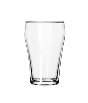 "Bell Soda Fountain Glass, 6-3/4 oz., Safedge® Rim guarantee, (H 4""; T 2-1/2""; B"