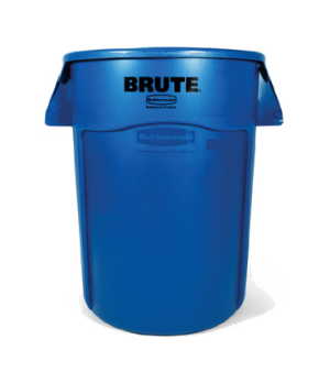 "BRUTE® Recycling Container, without lid, 44 gallon, 24""D x 31-1/2""H, reinforced"