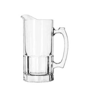 "Super Pitcher, 34 oz., glass, GIBRALTAR®, (top diameter 4"", bottom diameter 4"")"