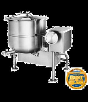 Kettle, Gas, Tilting, 40-gallon capacity, 2/3 steam jacket design, floor mounted