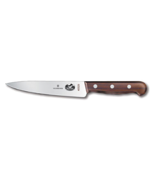 "Chef's Knife, 6"", 1-1/4"" width at handle, rosewood handle"