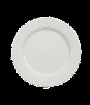 """Plate, 8-1/4"""", flat, premium porcelain, Perimeter"""