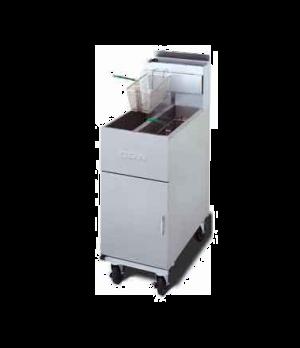 Super Marathon™ Gas Fryer, tube-type design, dual deep vat, (2 23-lb oil capacit