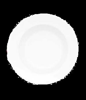 """Rim Soup Plate, 9"""", 15 oz., deep, premium porcelain, Millenia Bianca"""