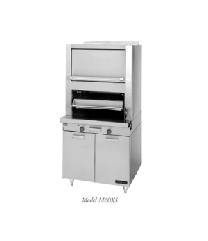 Master Series Broiler, deck-type, gas, (1 ceramic radiant deck with upper finish