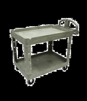 Material Handling/Heavy Duty Utility Cart, 2-shelf, 2000 lb. total capacity, ope