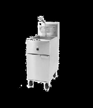 Super Runner Value Fryer, electric, floor model, 40-lb oil capacity, snap action