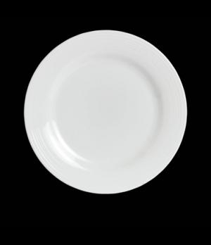 "Bread & Butter Plate, 6-1/4"" dia., round, wide rim, porcelain, Rene Ozorio Virtu"