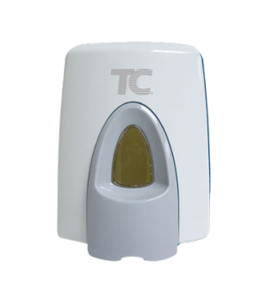 TC Foaming Seat Cleaner System, for toilets, clean seat dispenser, white (sold i