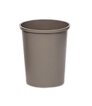 "Untouchable® Container, round, 44-3/8 qt., 15-3/4"" dia. x 18-3/4""H, durable, cra"