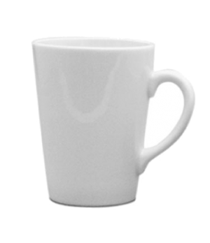 Cafe Euro Mug, 9 oz. (0.26 liter), small, scratch resistant, oven & microwave sa
