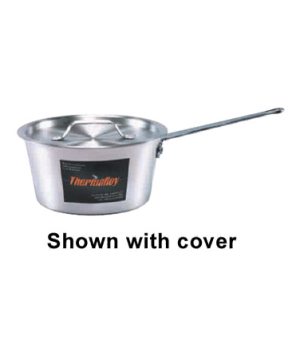 "Thermalloy® Sauce Pan, 11 qt., 12-1/4"" dia. x 5-1/2""H, tapered, non-insulated h"