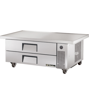 "Refrigerated Chef Base, 51-7/8""L base, 60""L one-piece 300 series 18 gauge stainl"