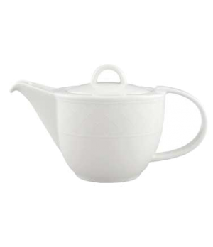 Teapot, 13-1/2 oz., with lid, premium porcelain, Bella (DE Stock)