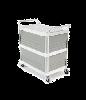 "Xtra™ Utility Cart, three shelves, 20""W x 40-5/8""D x 37-13/16""H, 300 lb. total c"