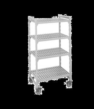 "Camshelving® Mobile Starter Unit, 21""W x 42""L x 75""H, 5 shelf, includes: 4 posts"