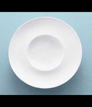 Plate, 10-3/4 oz., deep, premium porcelain, Marchesi