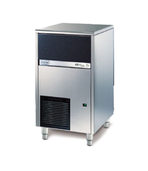 Brema Undercounter Ice Maker, air-cooled, self-contained, cube style, 55 lb. sto
