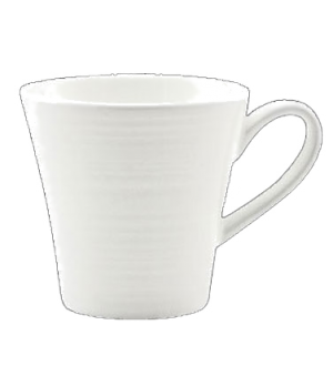 (0130) Fusion Cup, 8-1/4 oz. (25.0 cl), large, tall, embossed, bone china, micro