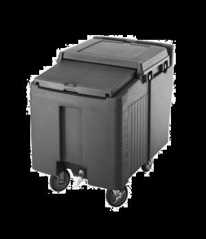 """SlidingLid™ Ice Caddy, mobile, 29-1/4""""H, 125-lb capacity, lid slides back & unde"""