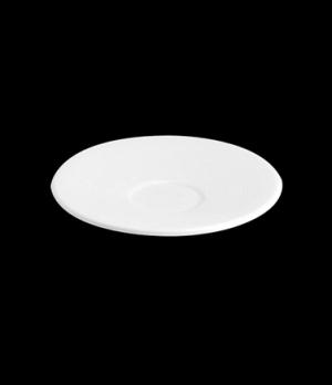 "Saucer, 4-3/4"" dia., for MP25 ad cup, porcelain, Tria, Wish (minimum = case quan"