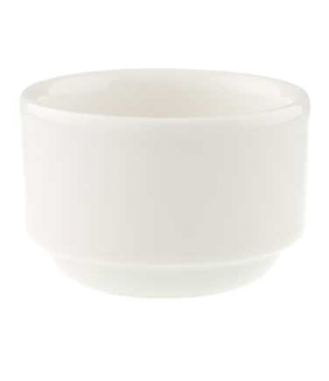 "Dip Bowl, 2-1/2"", 3-1/2 oz., stackable, premium porcelain, Universal"