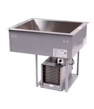 Coldwall Drop-in Refrigerated Cold Display Unit, self-contained, utilizing R-404