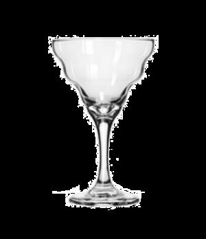 "Splash Margarita Glass, 12 oz., Safedge® Rim & foot (H 7""; T 4-3/8""; B 3""; D 4-3"
