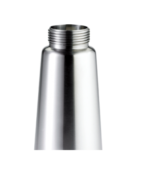 Bottle Only, for whipped cream dispenser, 1 pint, stainless steel
