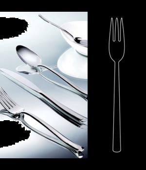 "Fish Fork, 8"", stainless steel, La Tavola, Yuki (non-stock item) (minimum = case"