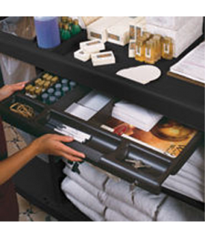 Xtra™ Utility Drawer, with lock, black